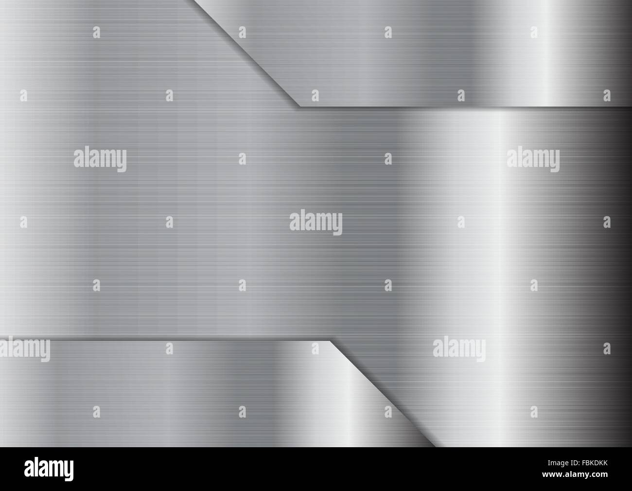 Abstract Grey Metallic Texture Background Silver Technology