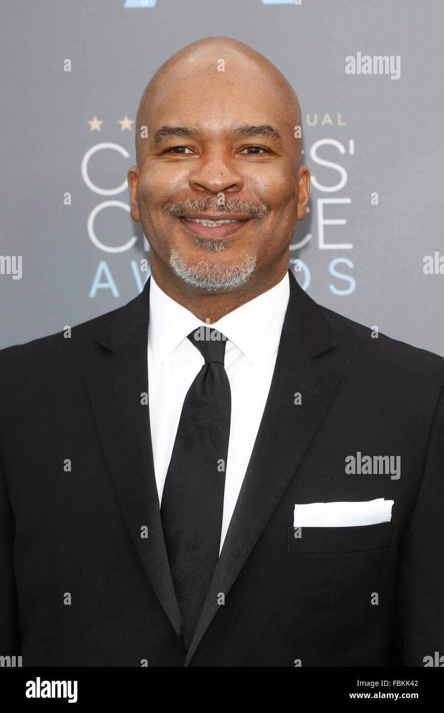 Santa Monica, California, USA. 18th Jan, 2016. Actor David Alan Grier arrives at the 21st Annual Critics' Choice - Stock Image