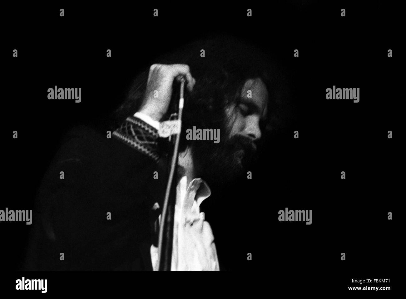 Jim Morrison -  1970  -  United Kingdom / England  -  Jim Morrison, The Isle of Wight Festival,1970   -  Philippe Stock Photo