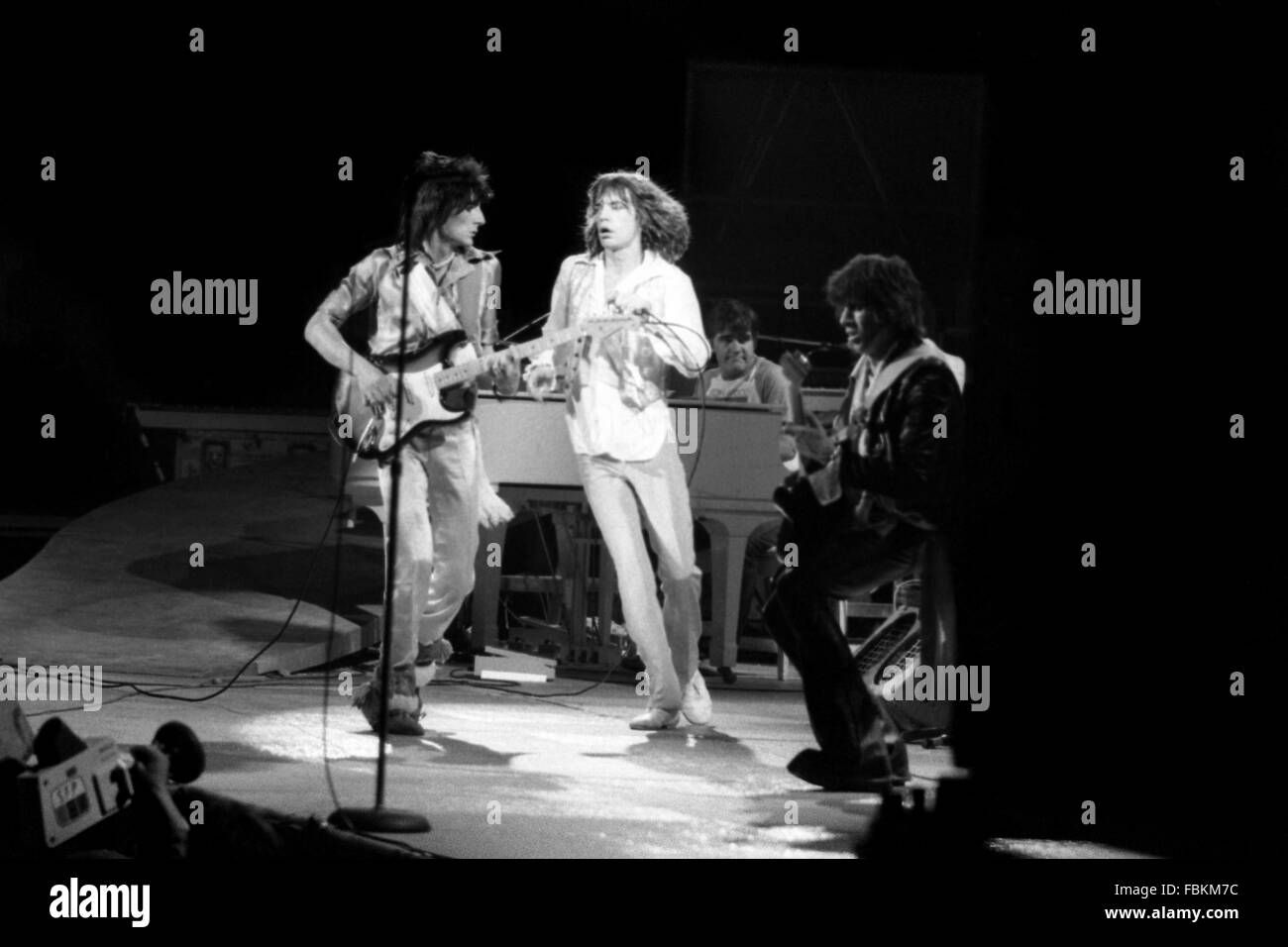 Rolling Stones, Mick Jagger and Keith Richards -  1970  -  France / Ile-de-France (region) / Paris  -  Rolling Stones, Stock Photo
