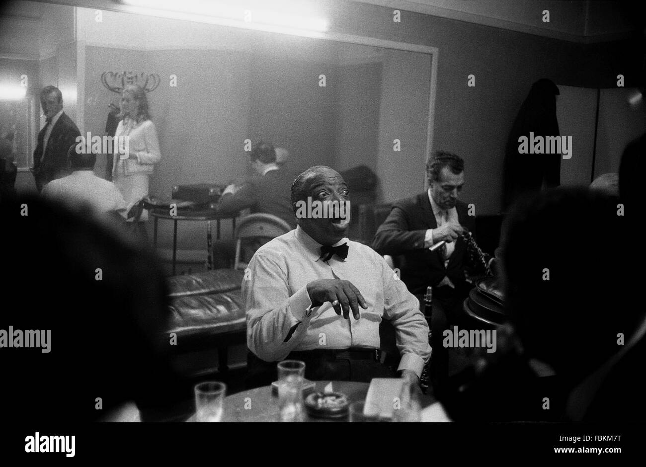 Count Basie -  1966  -  France / Ile-de-France (region) / Paris  -  Count Basie, Paris, 1966   -  Philippe Gras - Stock Image