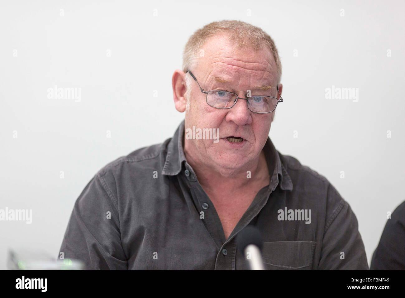 radio DJ and presenter Allan Beswick - Stock Image