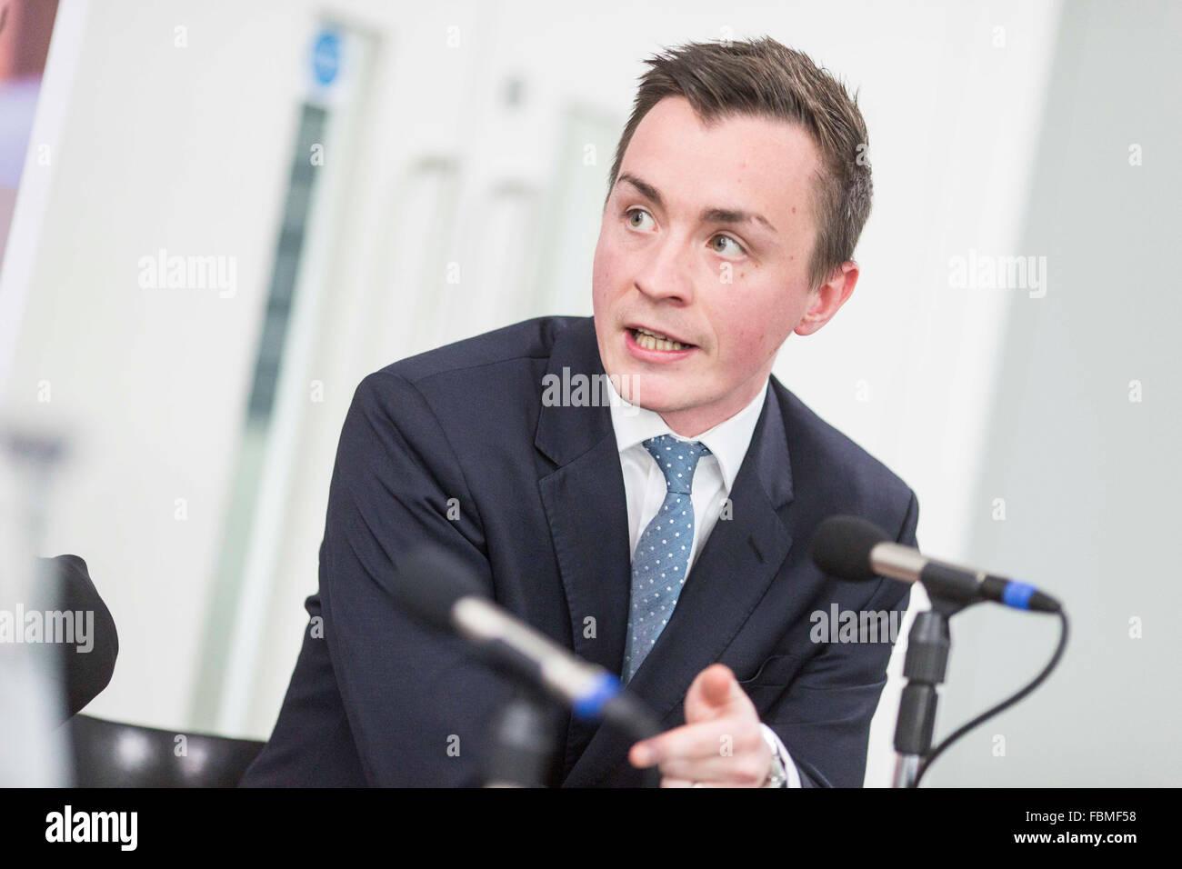 Councillor Sean Anstee , leader of Trafford Council - Stock Image