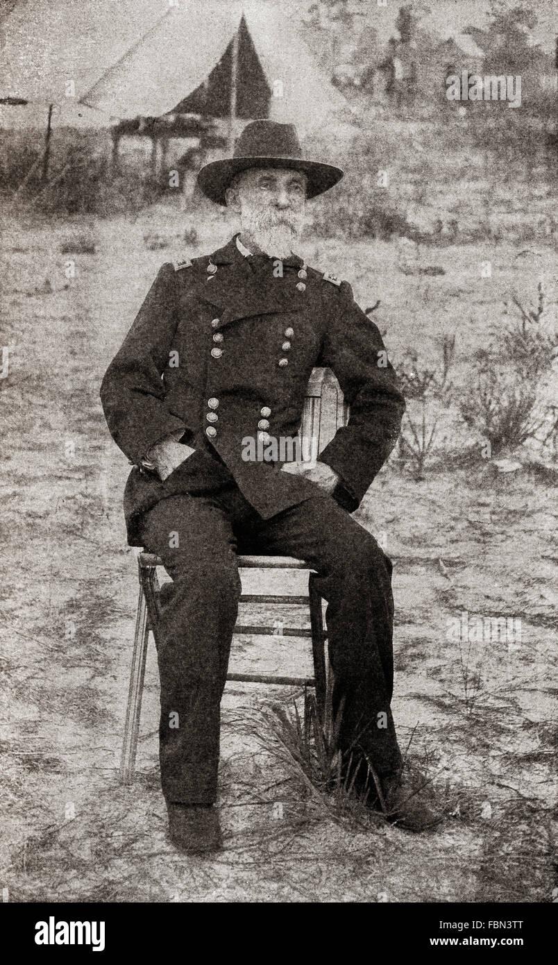 Joseph Wheeler, 1836 – 1906.  American military commander and politician. - Stock Image