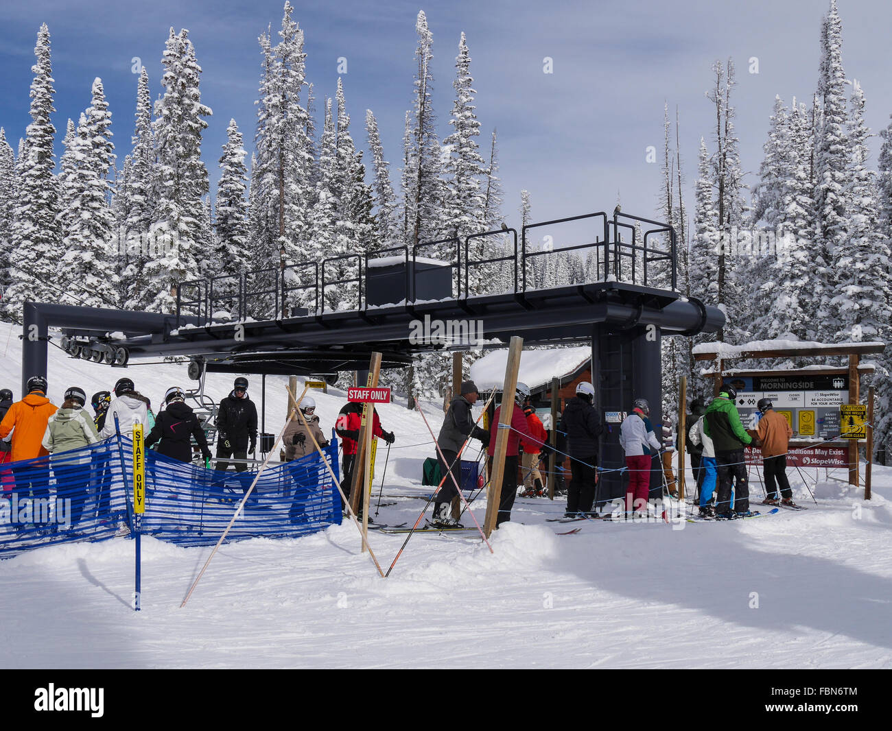 morningside chairlift base, steamboat ski resort, steamboat springs