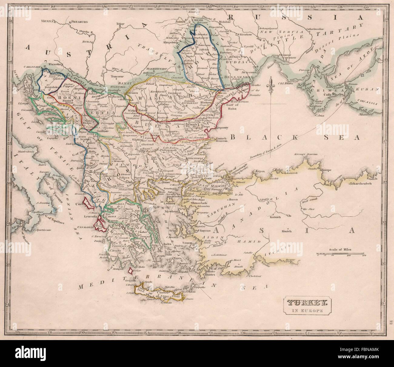 TURKEY IN EUROPE. Balkans. British Ionian Islands. Romelia ...