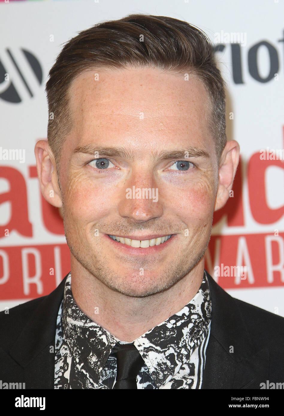 Jun 26, 2015 - London, England, UK - Dan Gillespie Sells attending Inaugural Attitude Pride Awards, honouring members - Stock Image