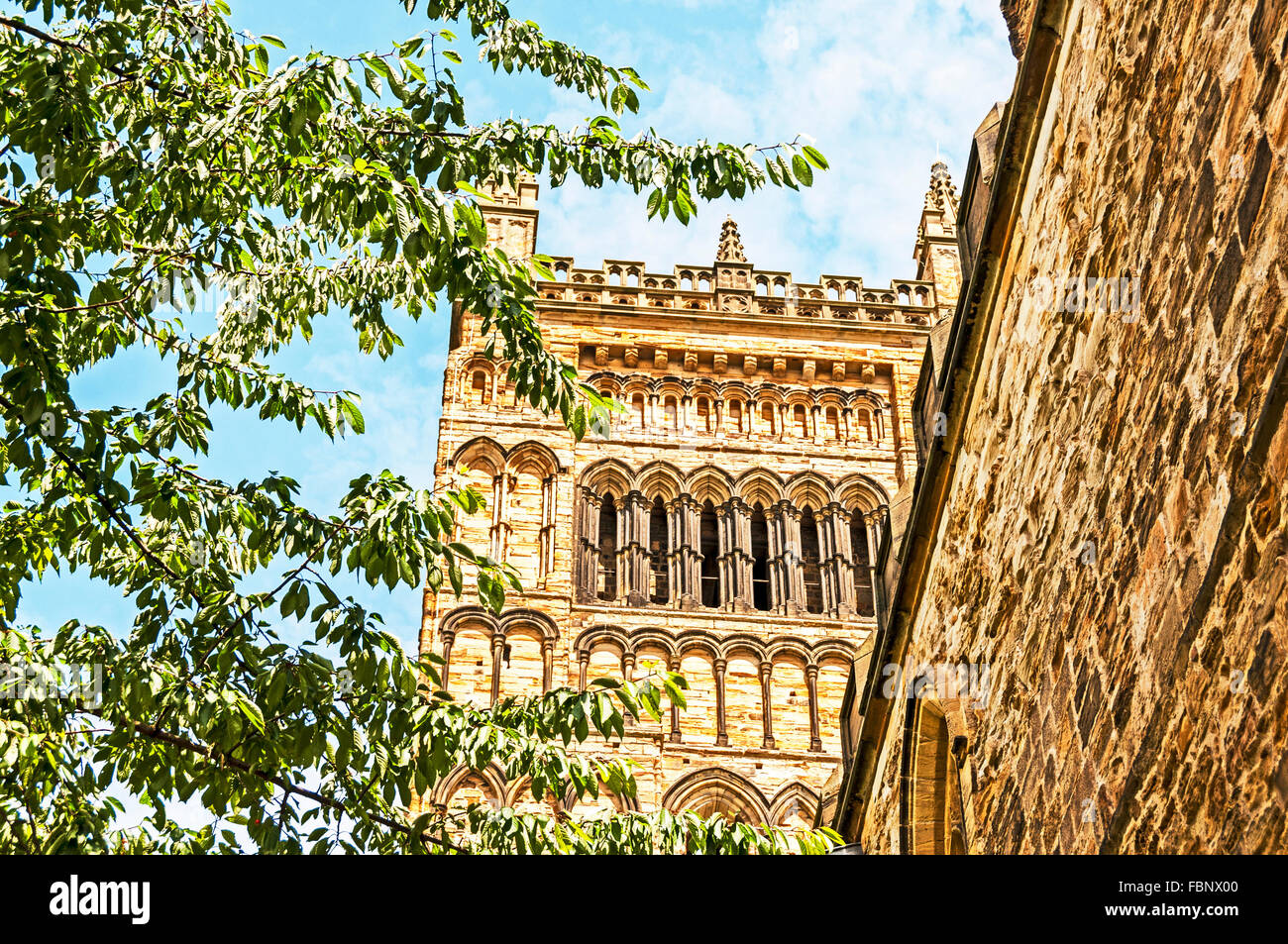 The Cathedral Church of Christ, Blessed Mary the Virgin and St Cuthbert of Durham - Stock Image