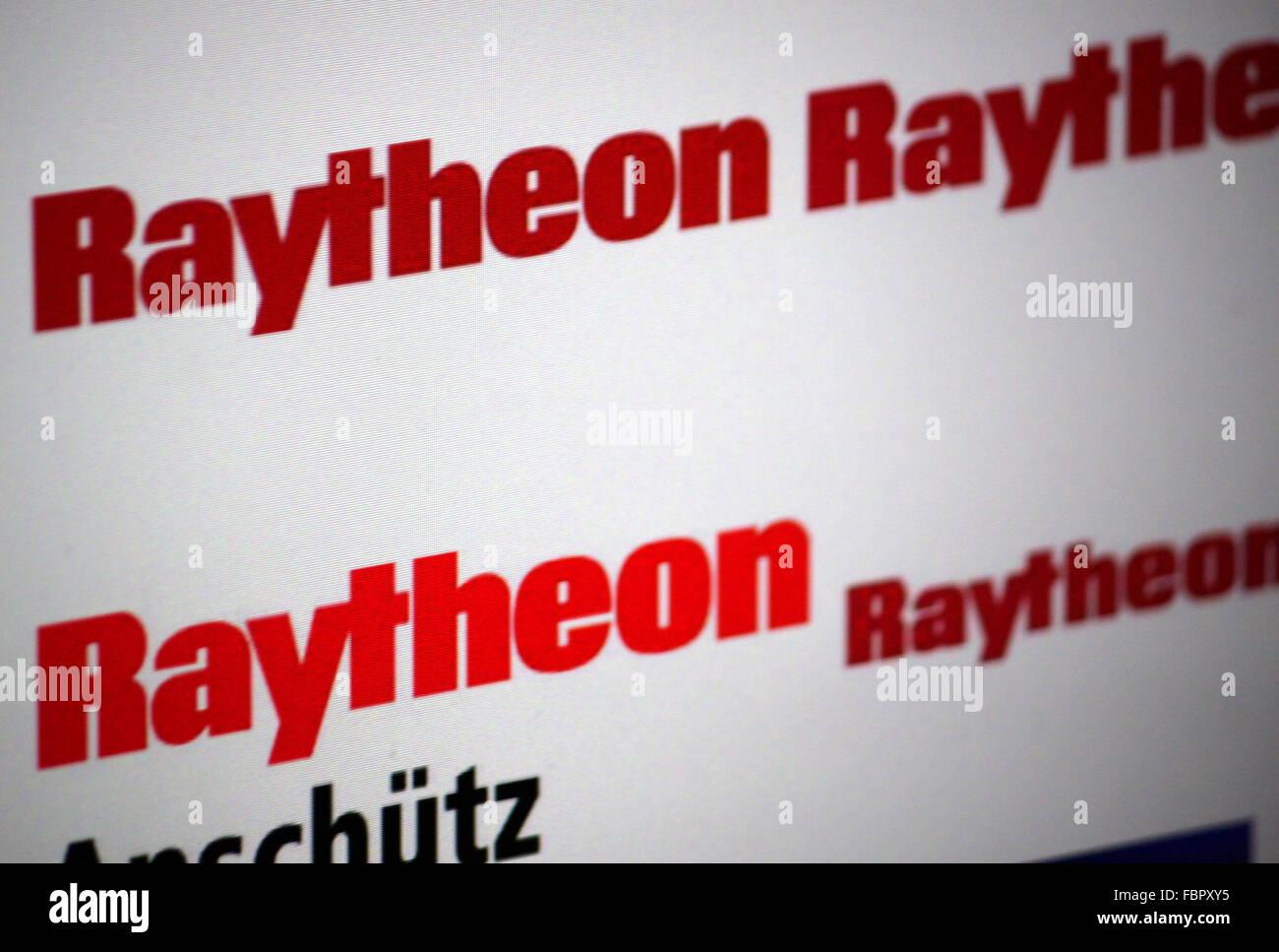 Markenname: 'Raytheon'. - Stock Image