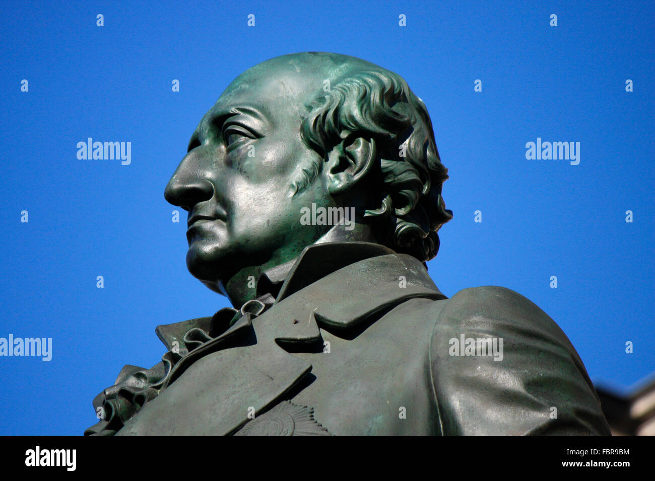 Baron Freiherr von Stein, Heinrich Friedrich Karl von Stein - Denkmal, Abgeordnetenhaus, Berlin-Mitte. - Stock Image