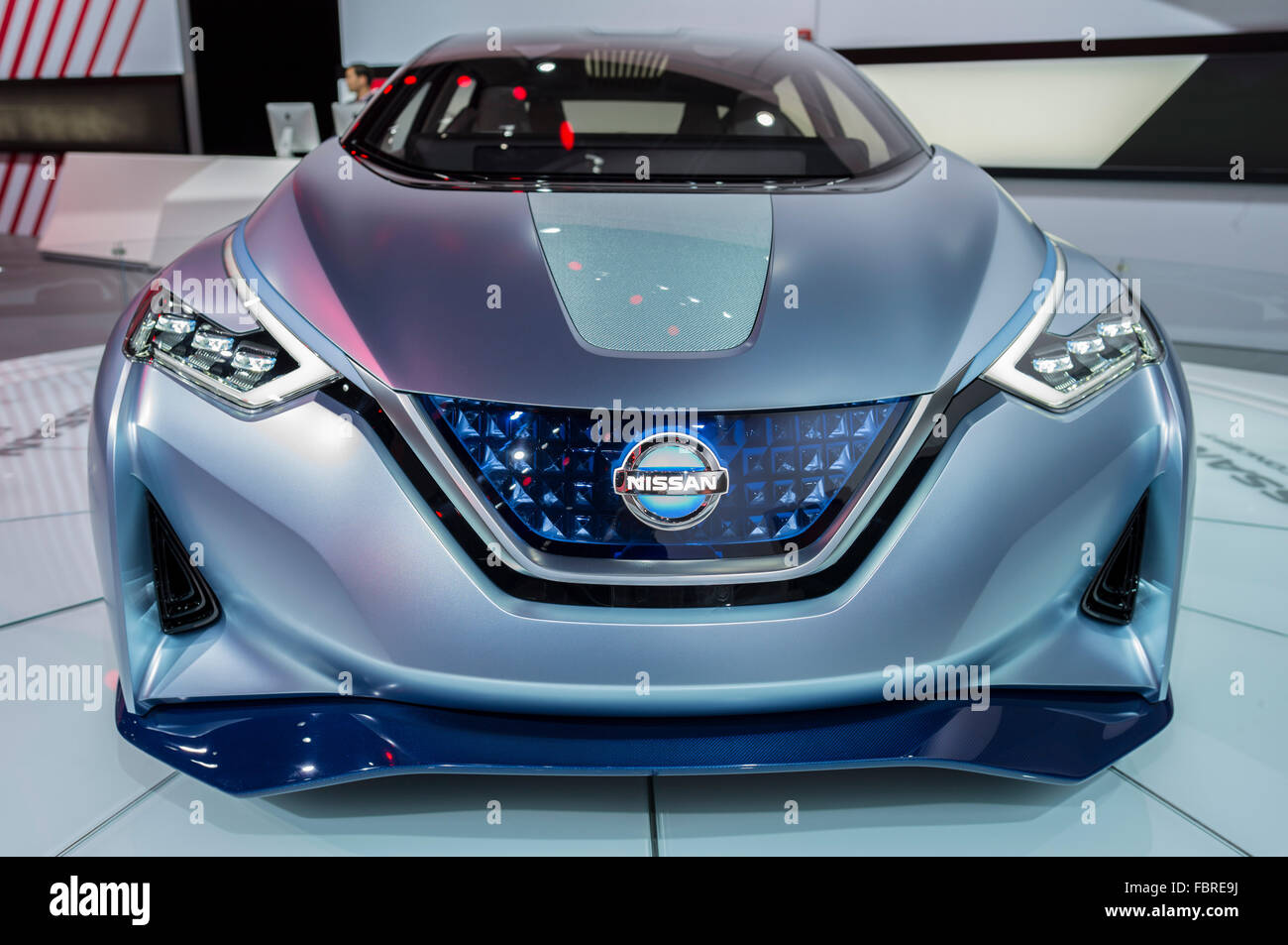 Nissan IDS Concept at the North American International Auto Show, Detroit 2016. - Stock Image