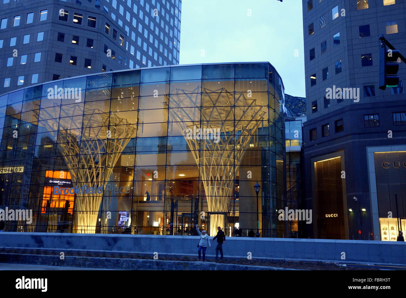 5d2f901d0c3 Brookfield Place entrance in Lower Manhattan s Battery Park City ...