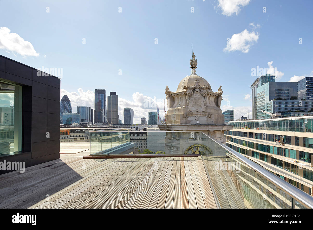 Rooftop View Towards City Of London The Alphabeta