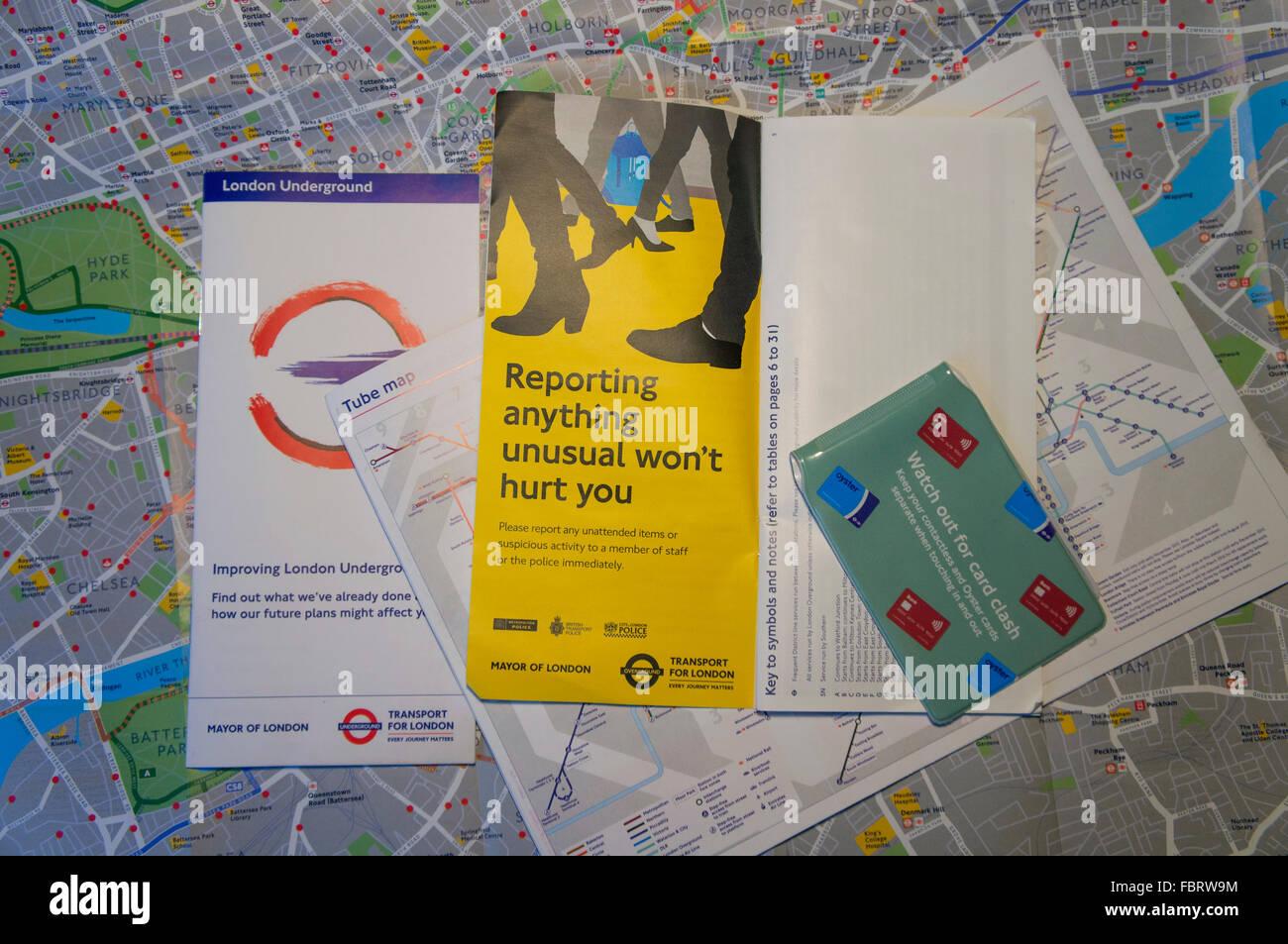 Transport for London London Underground Tube map