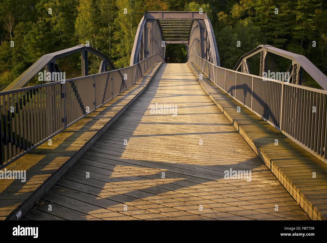 Bridge in Harra Stock Photo