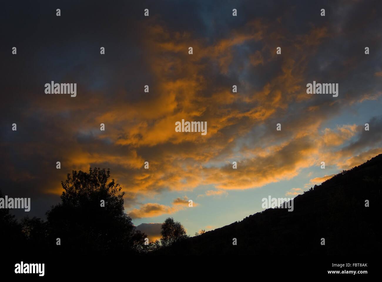 Abendstimmung - Stock Image
