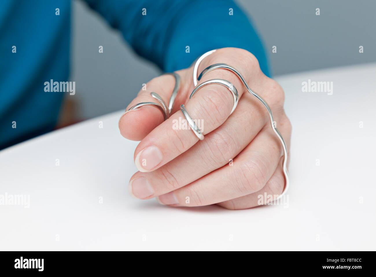 Sterling Silver Ring Stock Photos & Sterling Silver Ring Stock ...