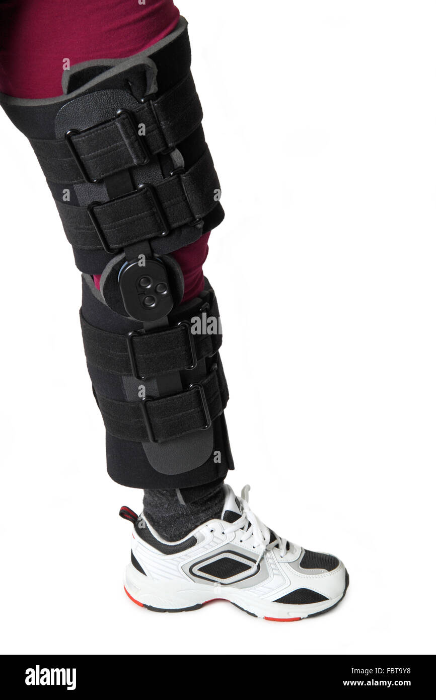 kneecap Stock Photo