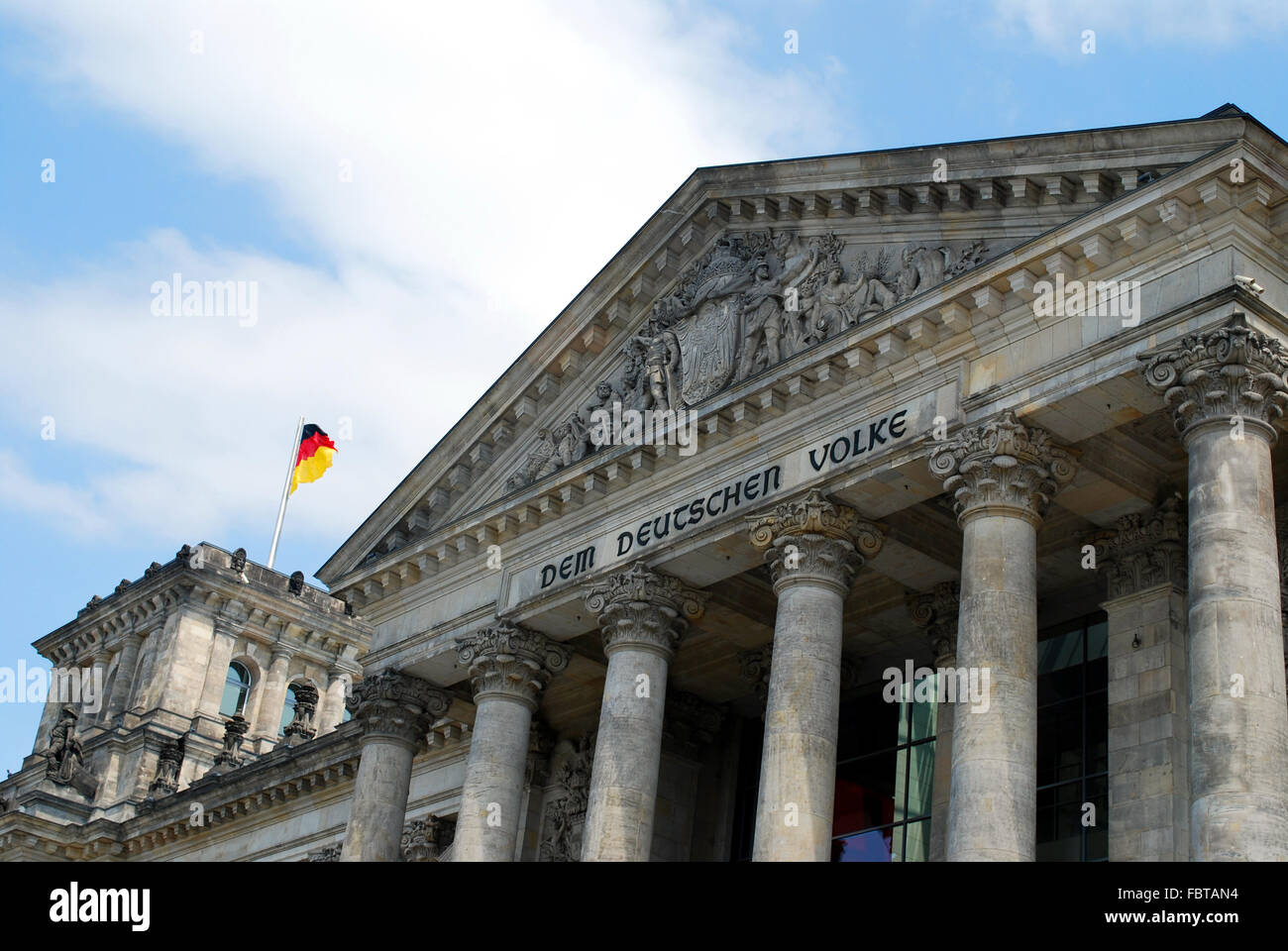 Berlin Reichstag - Stock Image