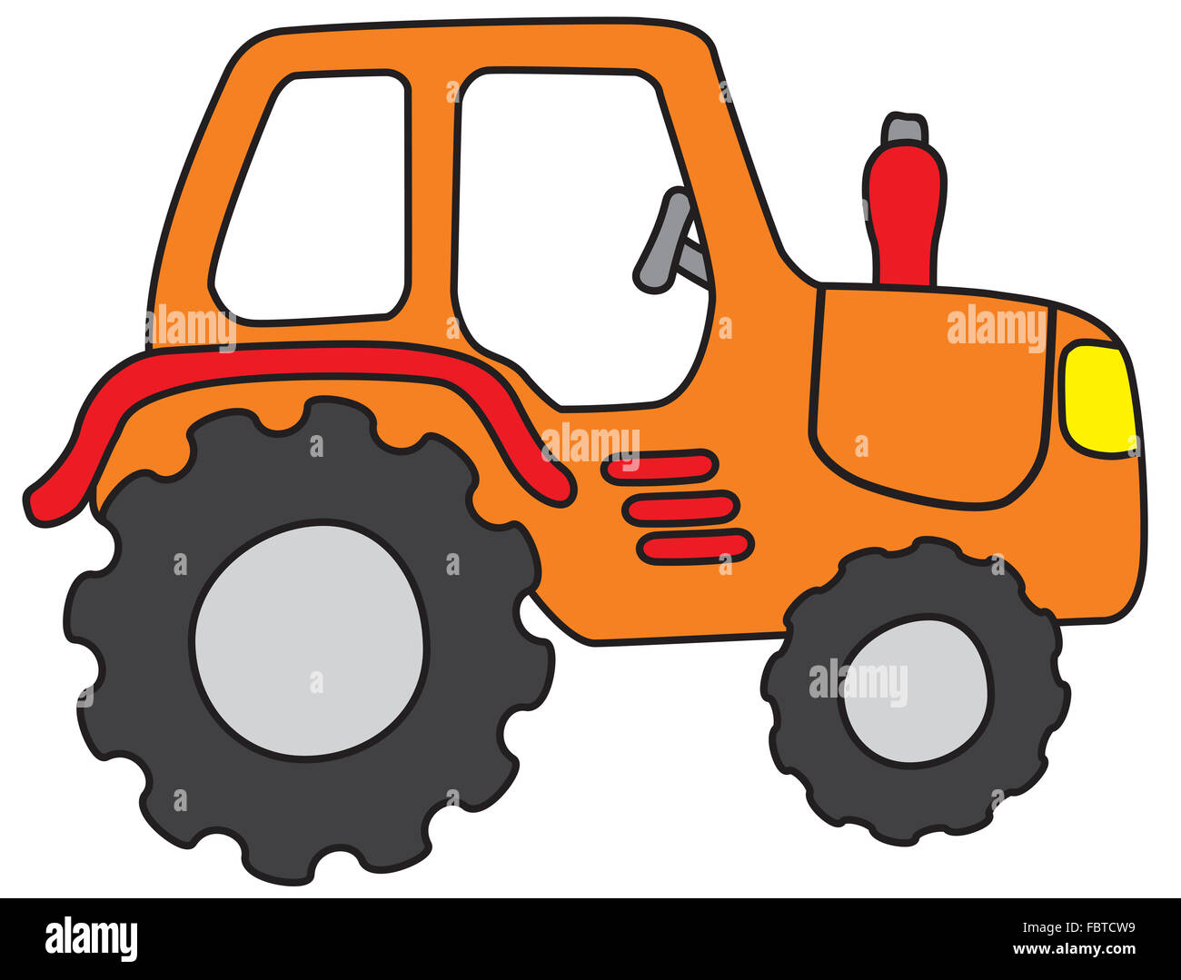 tractor - Stock Image