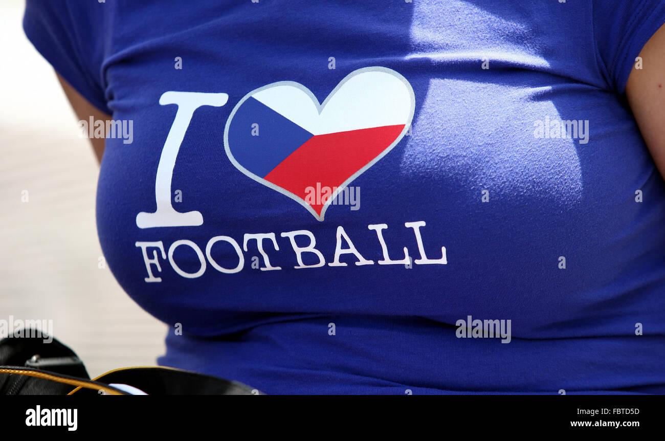 Footballfan - Stock Image