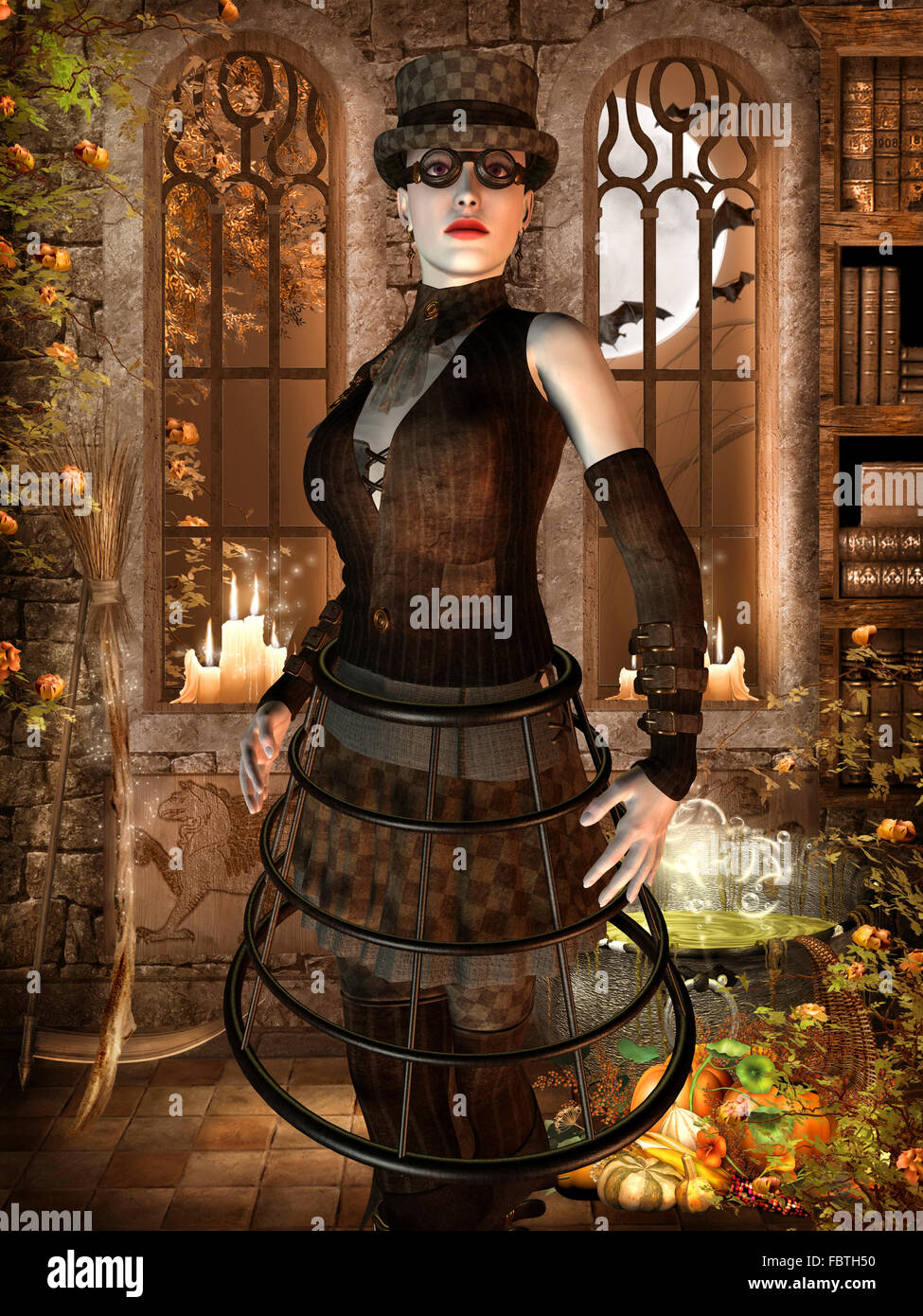 Wife of Surrealist Outfit - Stock Image