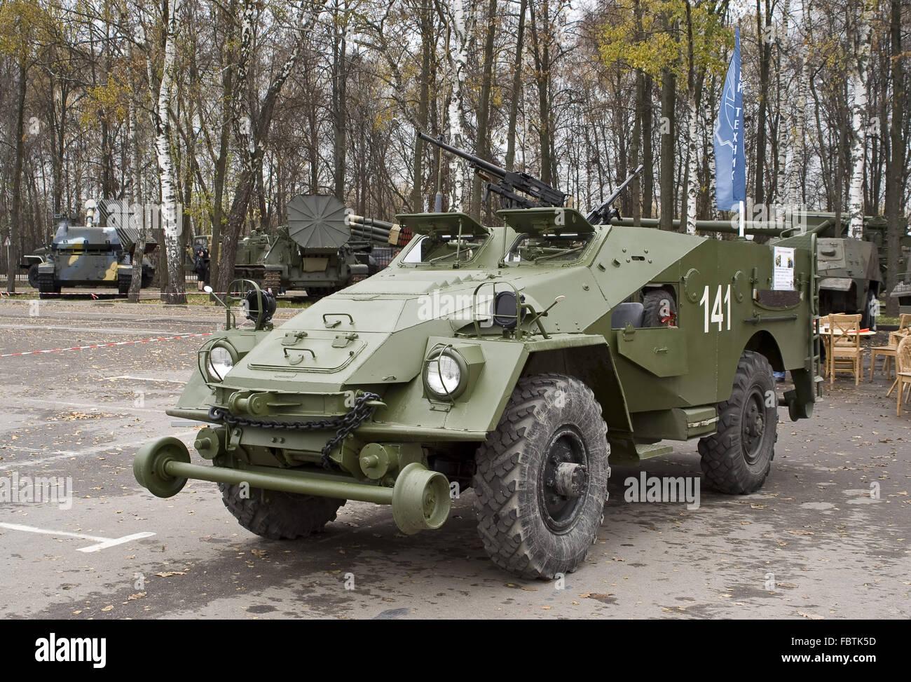 BTR-40 APC - Stock Image