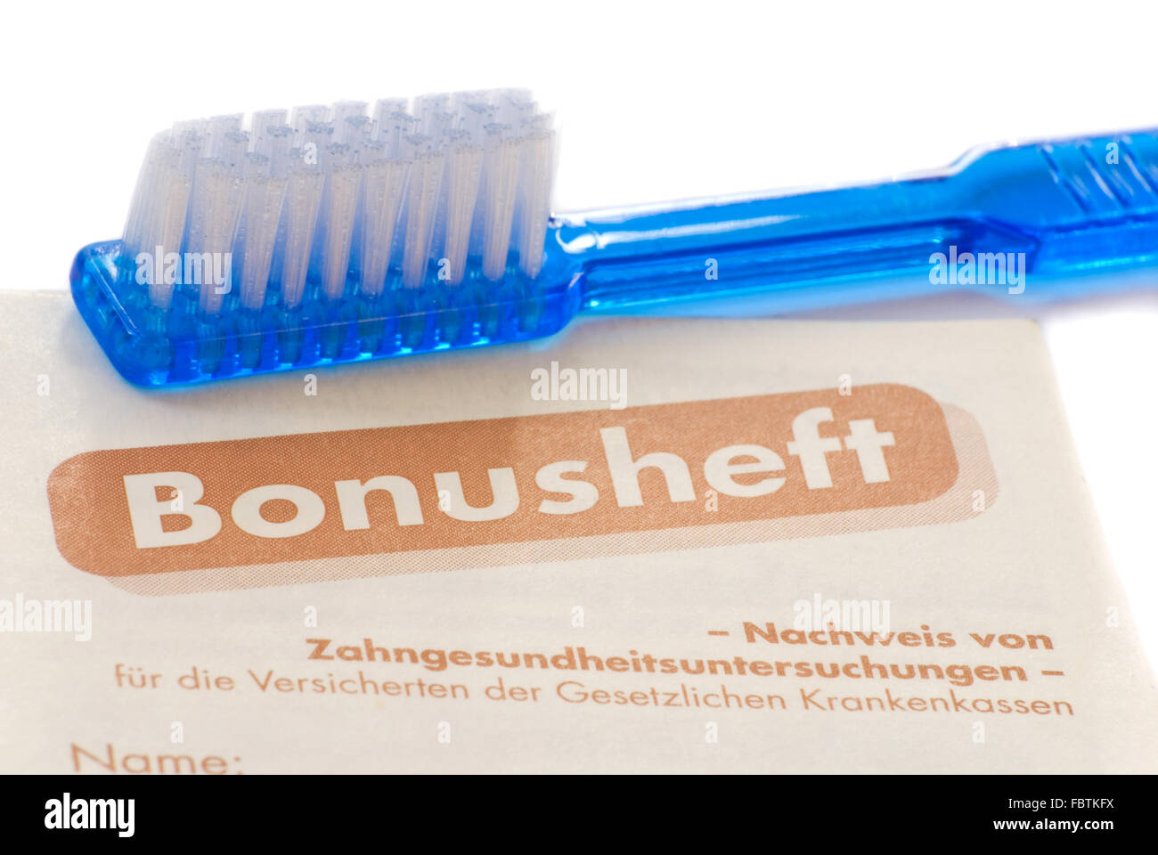 bousheft toothbrush Stock Photo