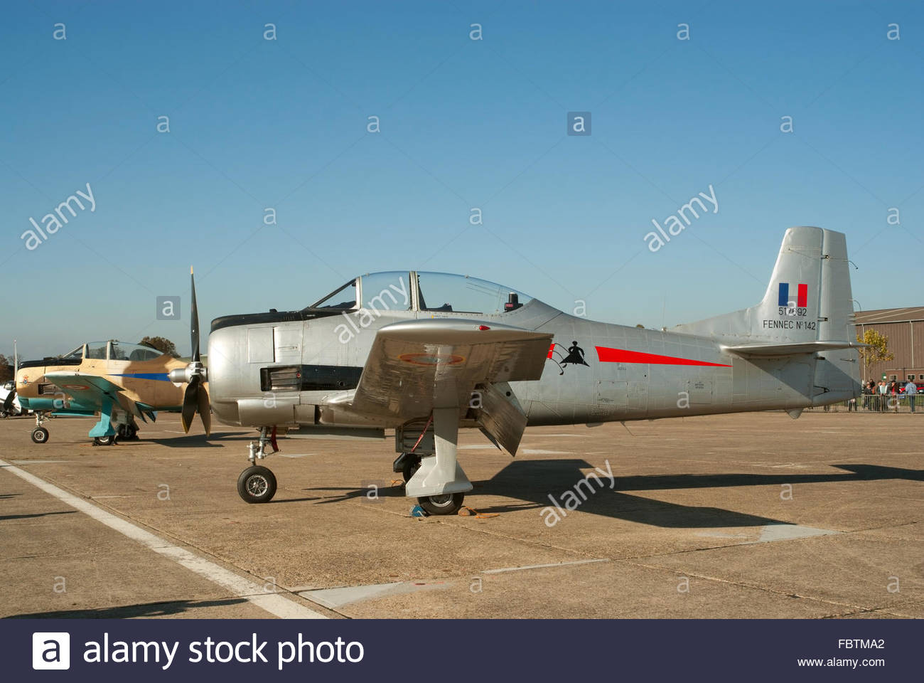T-28 Fennec trainer plane - Stock Image