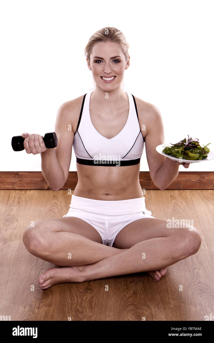 Healthy living. - Stock Image