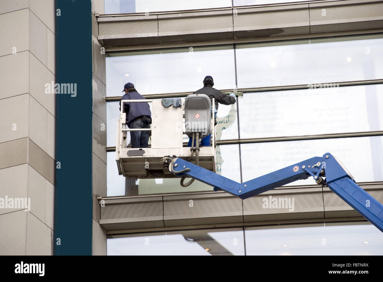 window washers - Stock Image