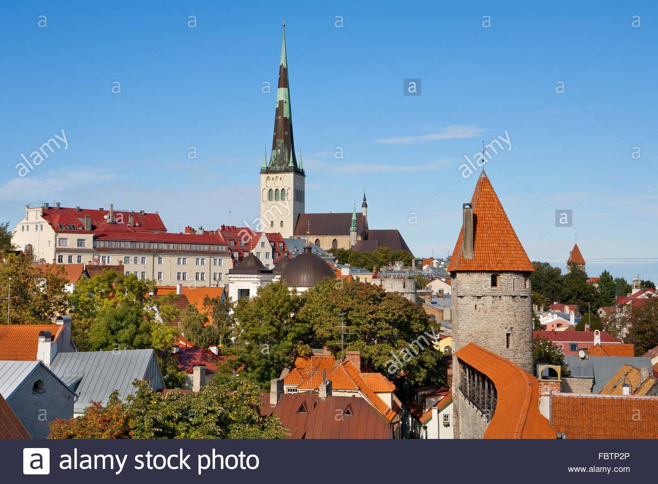 Tallinn. Estonia Stock Photo