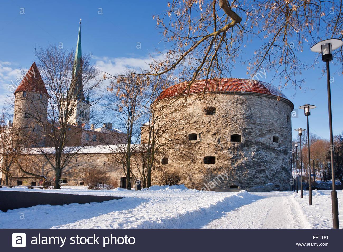 Tallinn - old town. Estonia - Stock Image