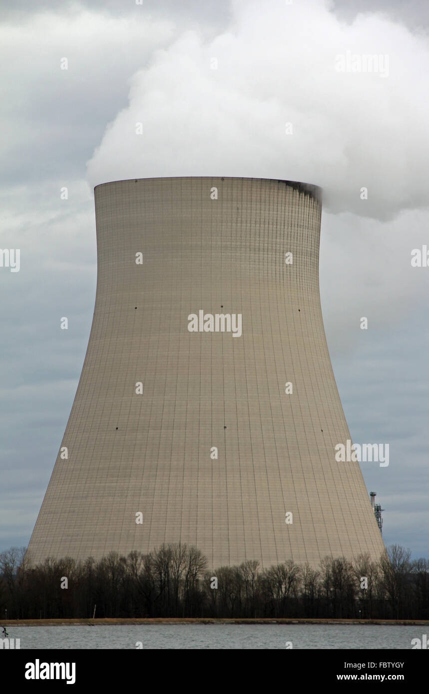 Cooling Tower - Stock Image