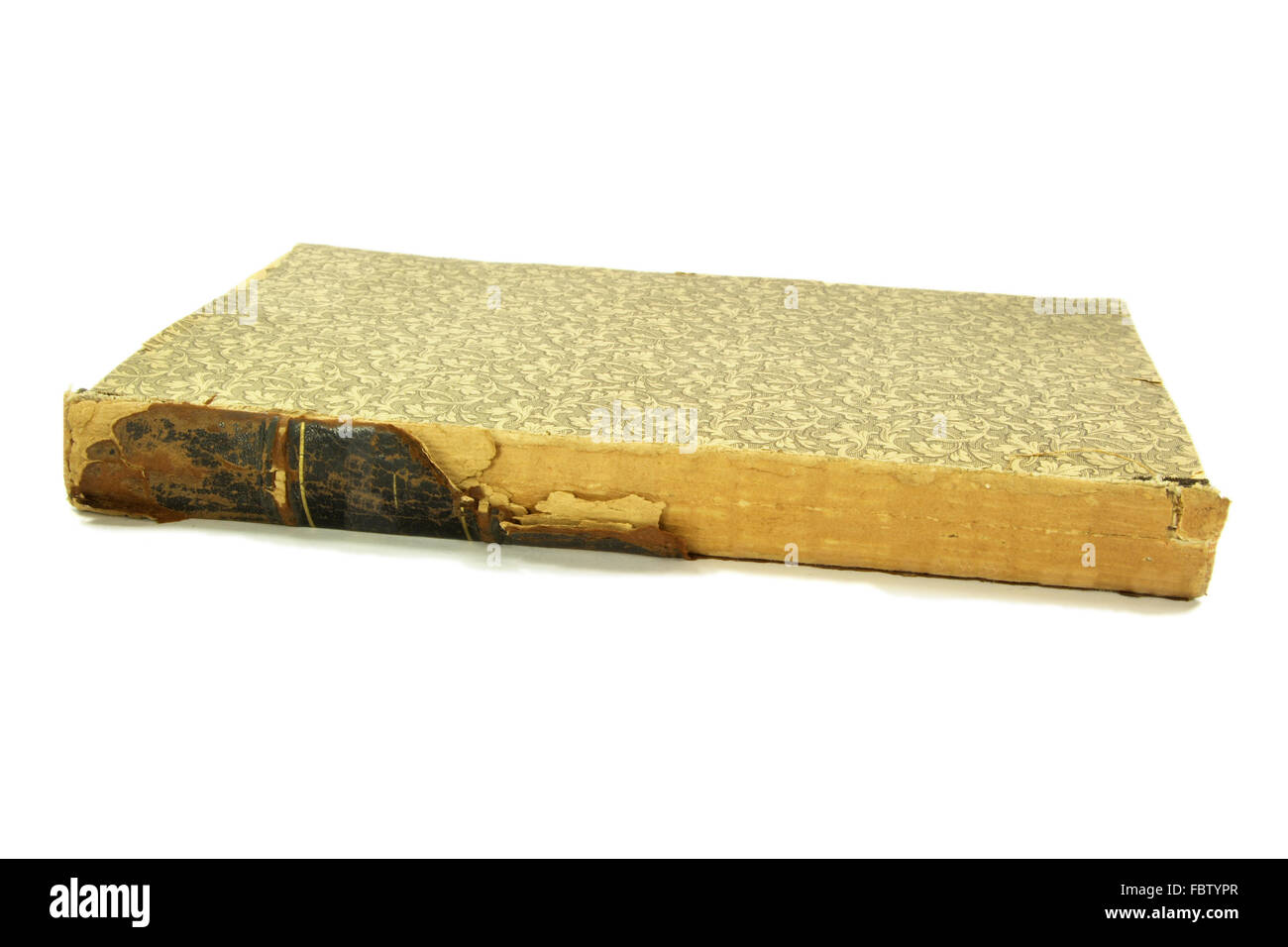 120 years Old book. - Stock Image