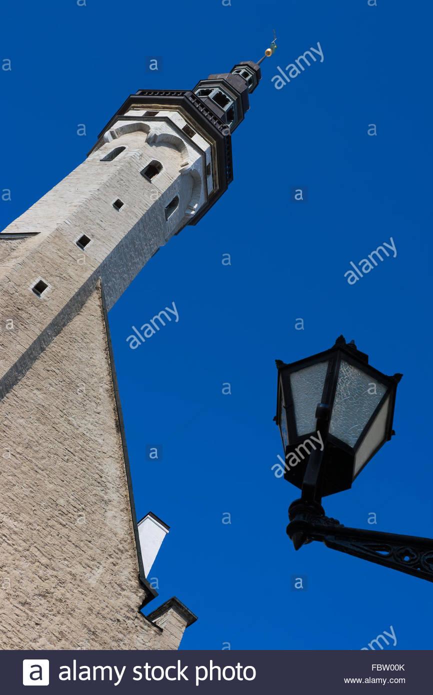 Tallinn Townhouse. Estonia - Stock Image