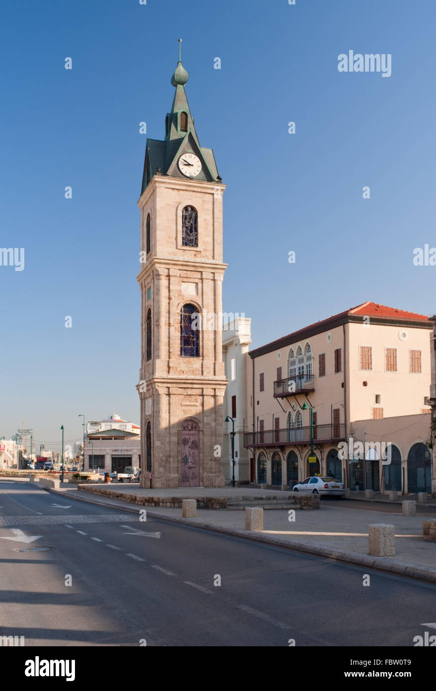 Jaffa Clock Tower - Stock Image