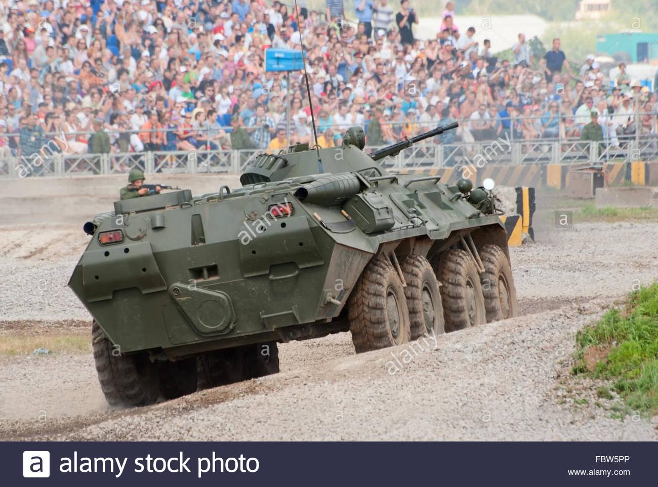 BTR-80 APC - Stock Image