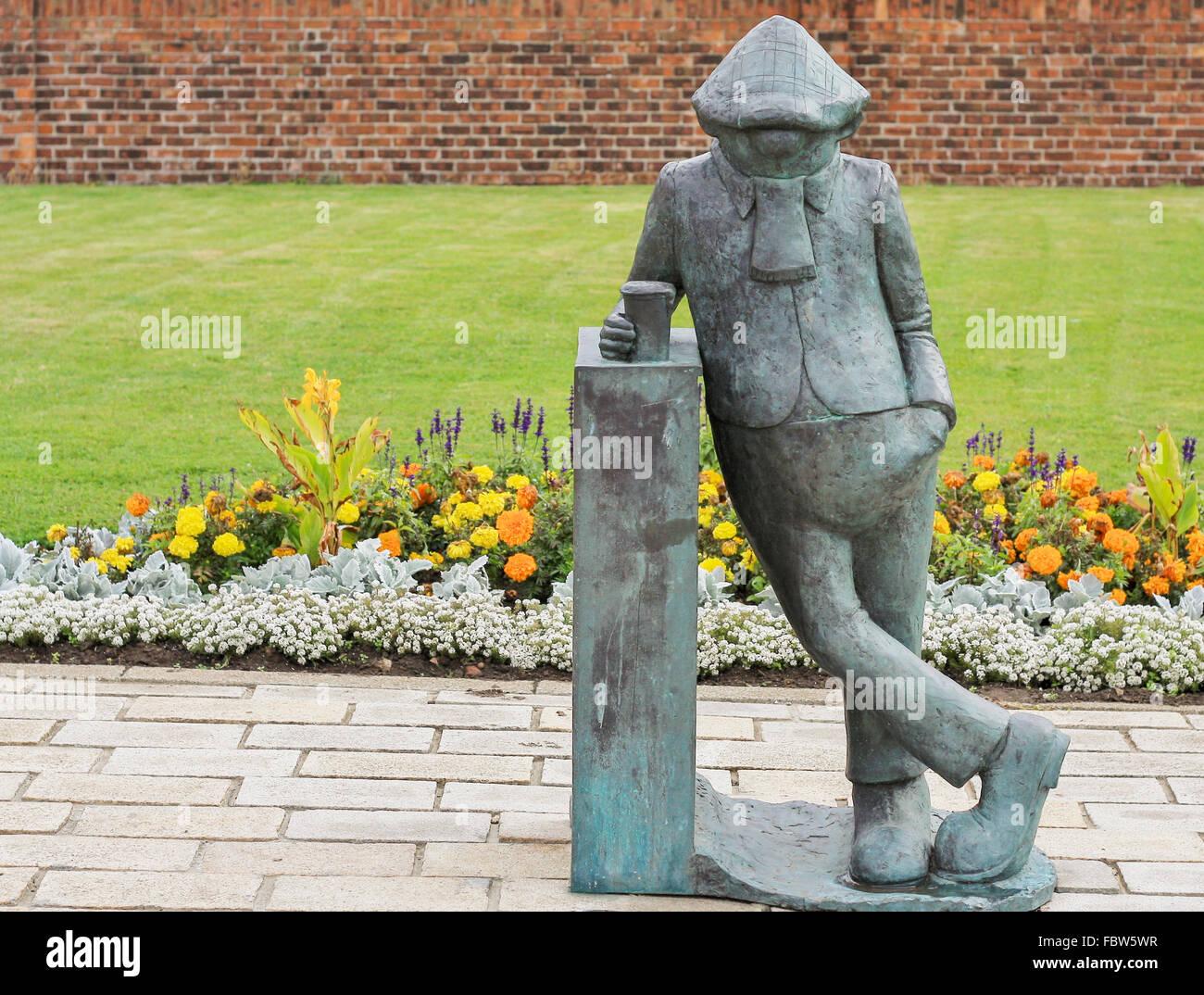 Famous celebrity life size display statues fiberglass / resin