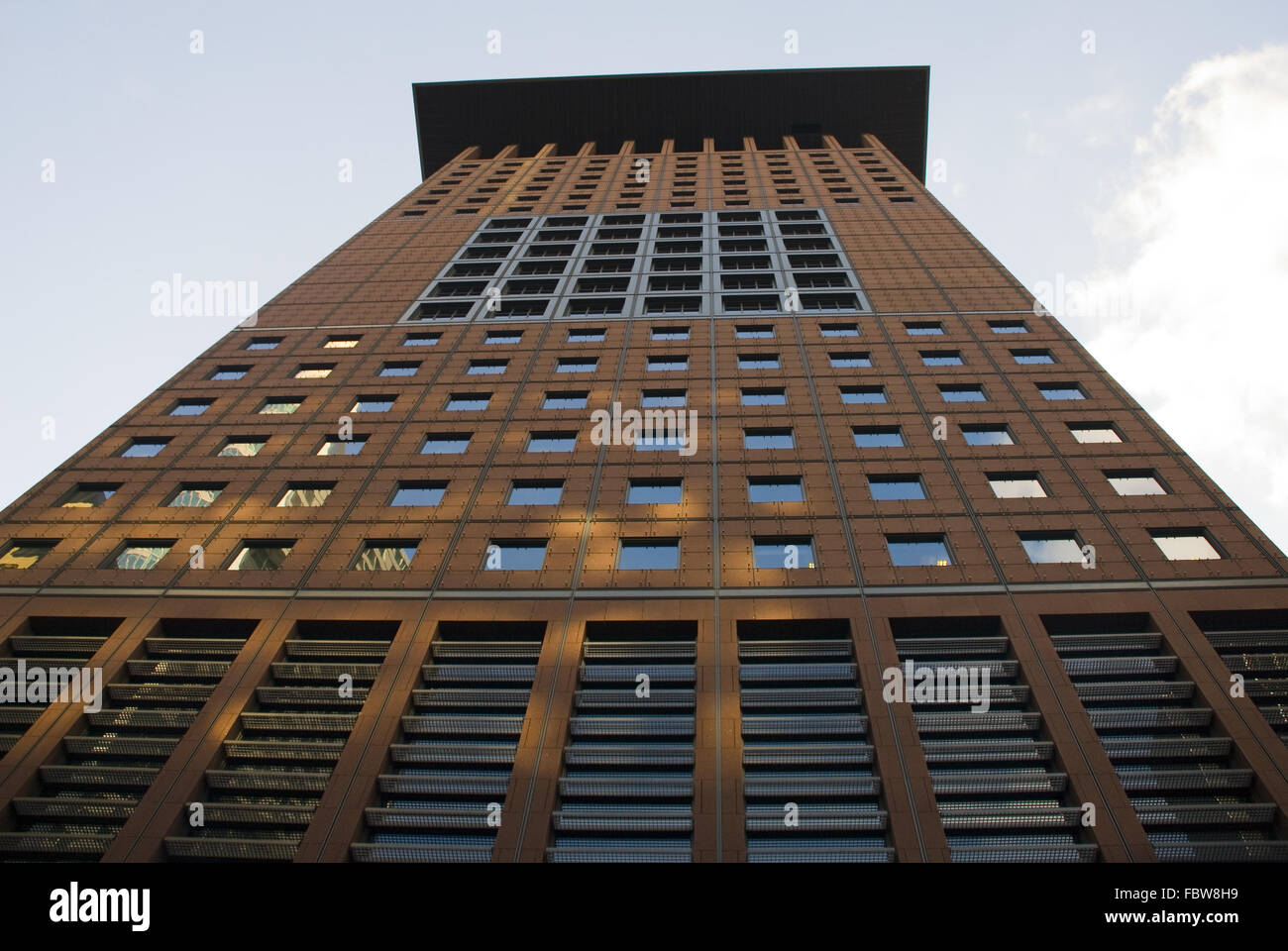 Japan Tower, Frankfurt Stock Photo