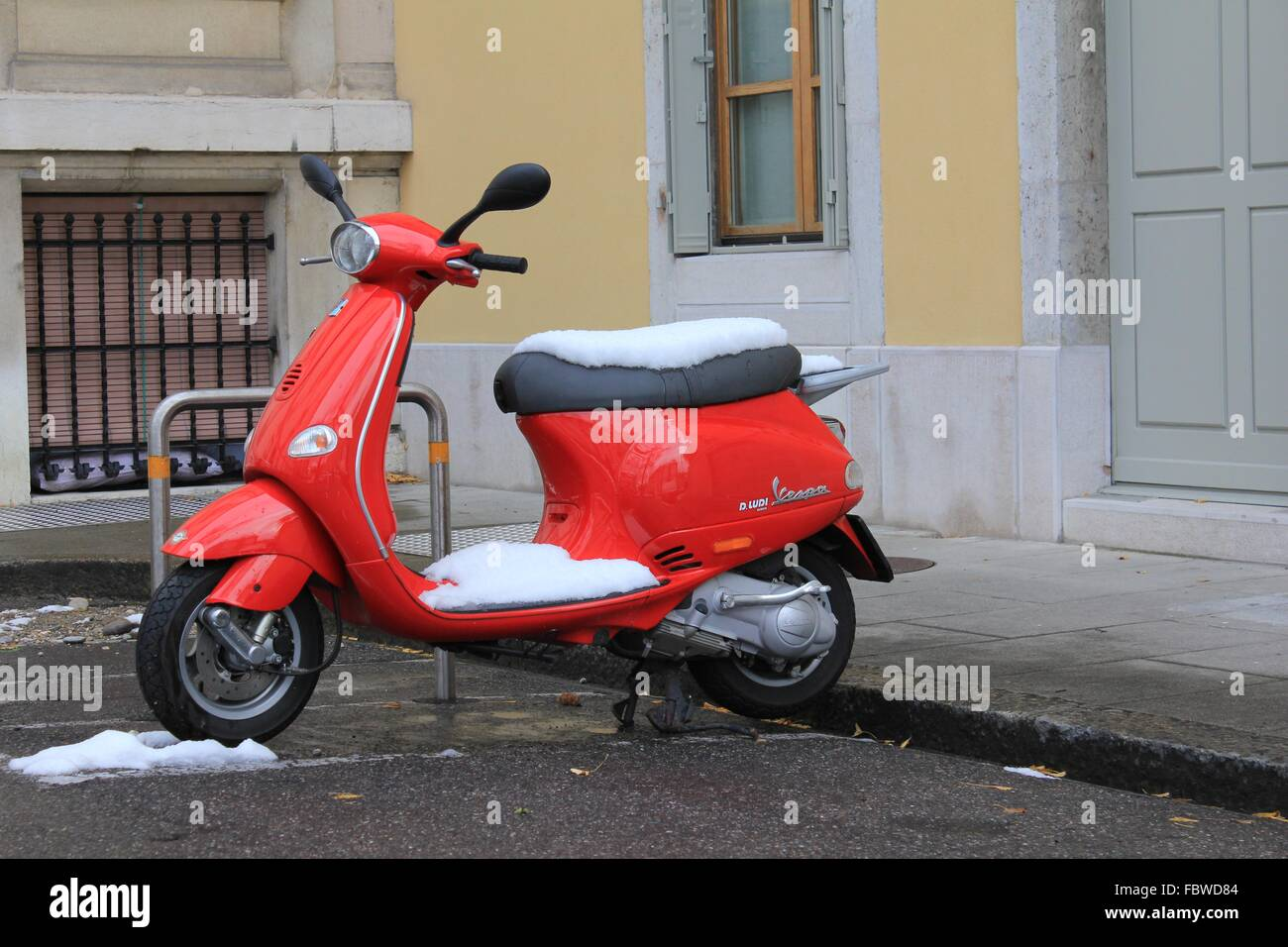 scooter - Stock Image
