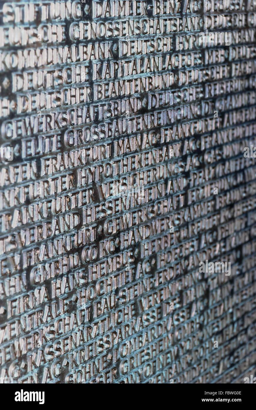 Typography - Stock Image