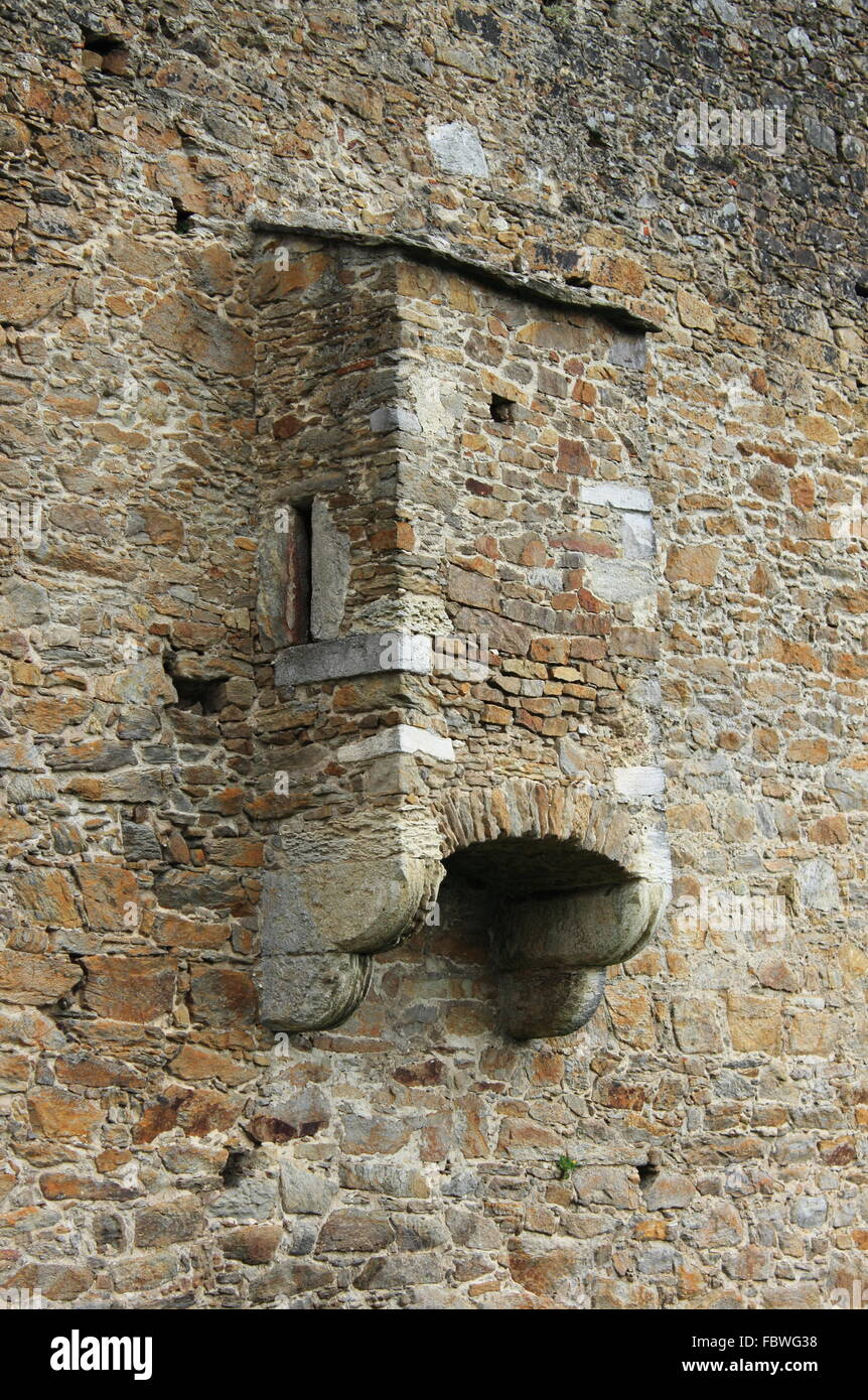 Medieval Toilet In An Ancient Castle