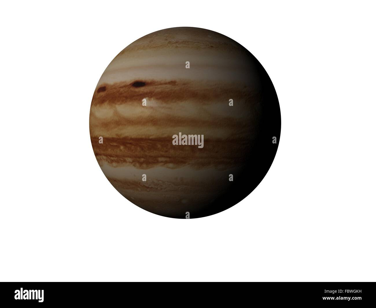 planet jupiter - Stock Image