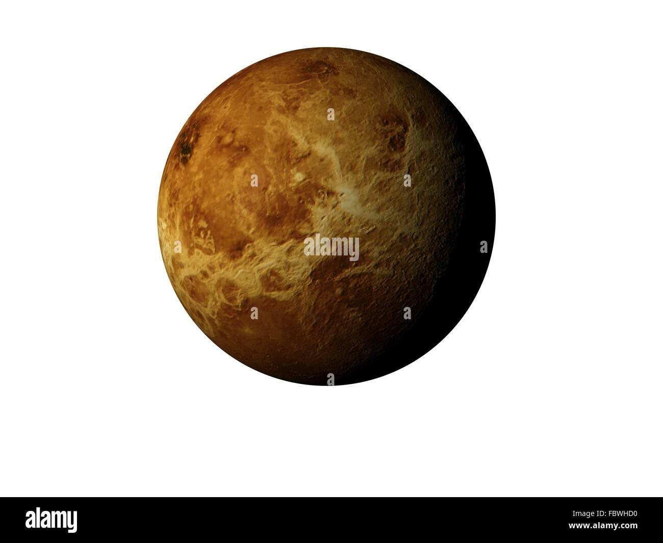 planet venus - Stock Image