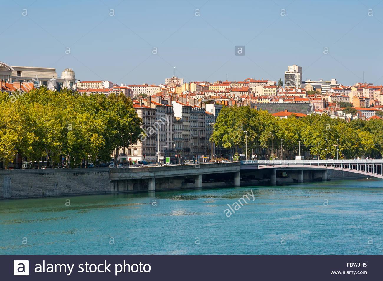 Lyon cityscape. France - Stock Image