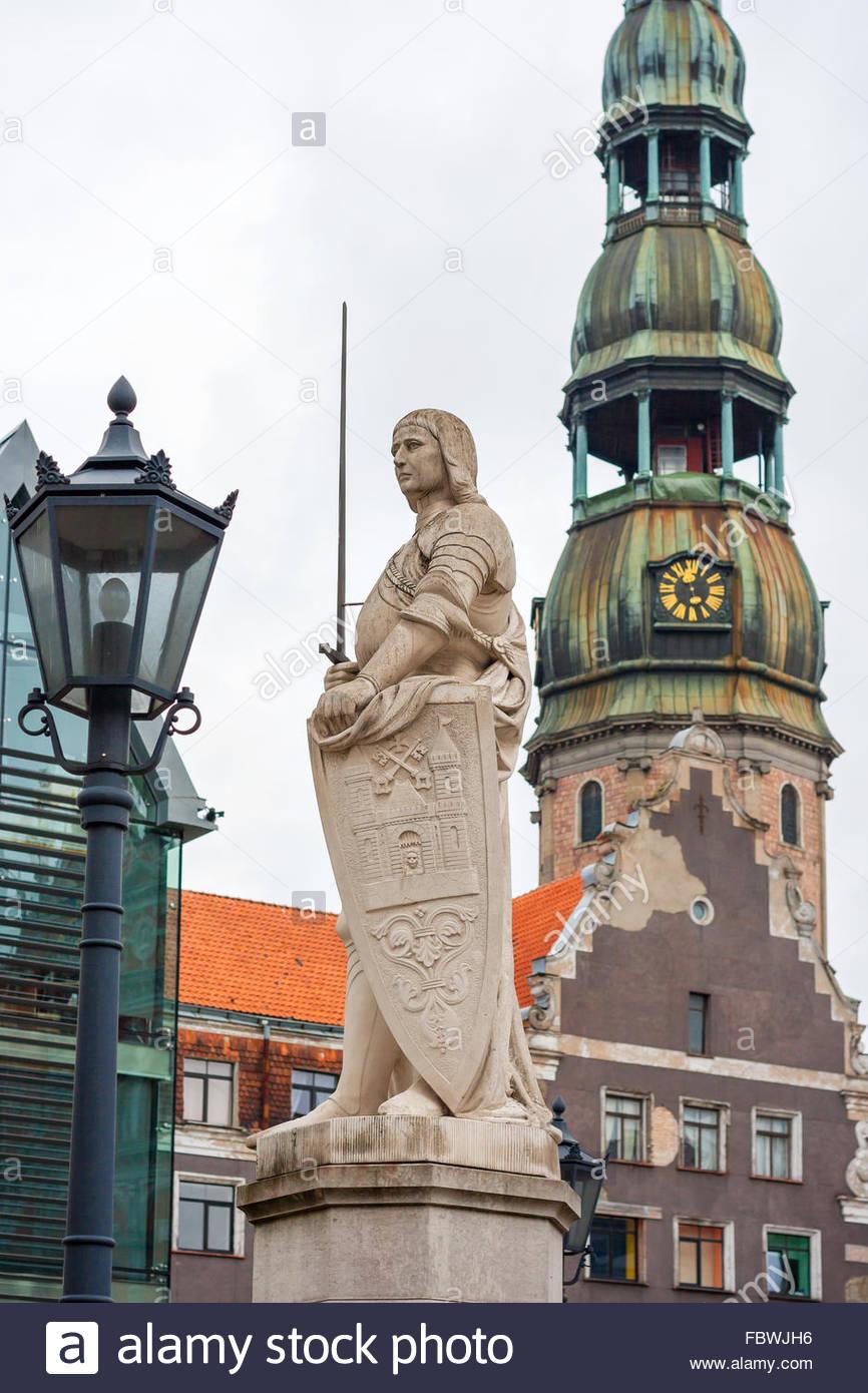 Riga, Latvia - Stock Image