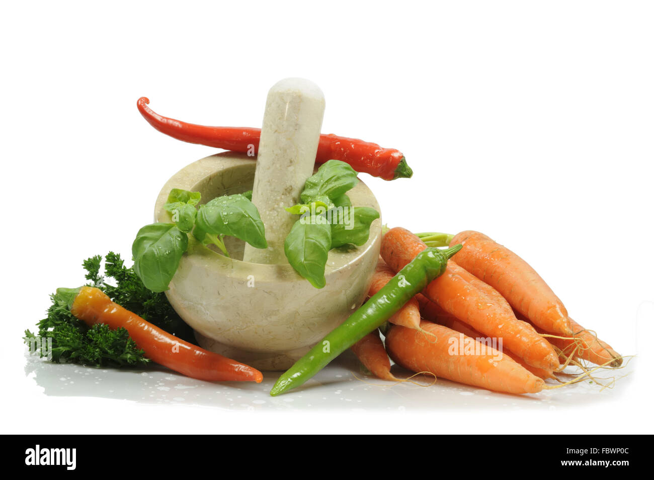 pestle Stock Photo