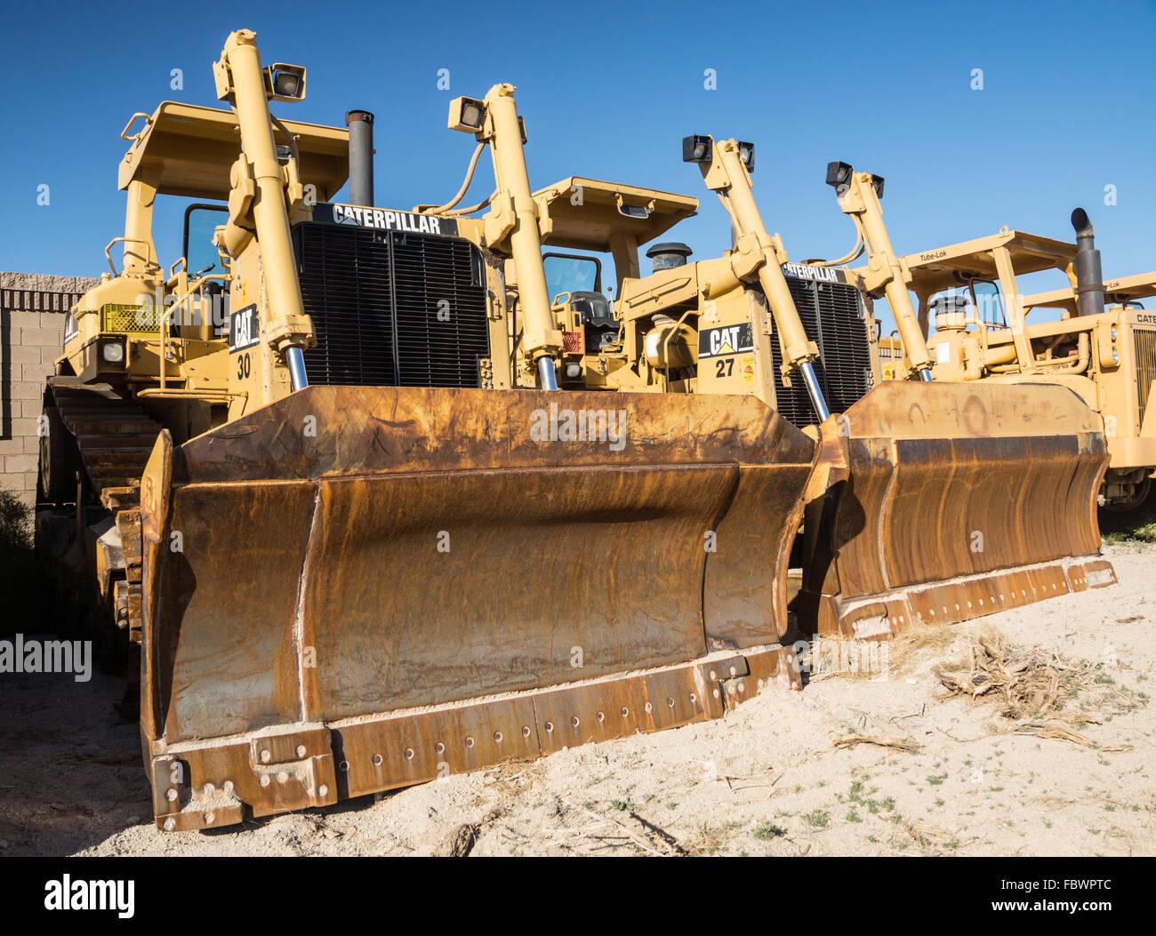 Earth Movers - Stock Image