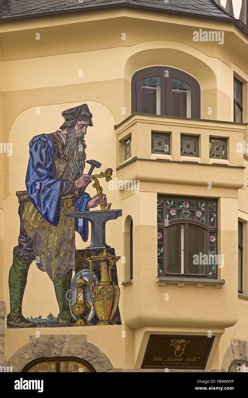 Old Wall Mural Shop Stock Photos & Old Wall Mural Shop Stock Images ...